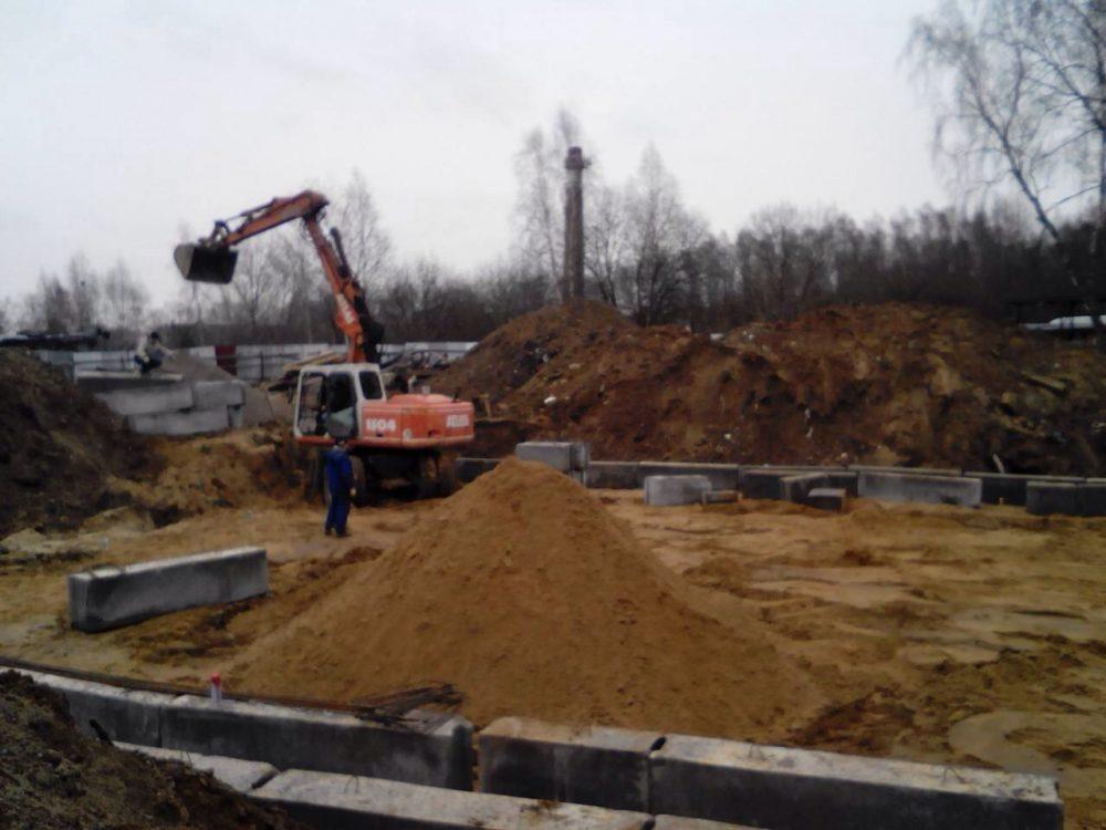 1 этап строительства Радужная